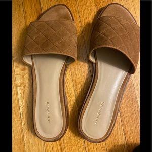 Ann Taylor Brown sandal